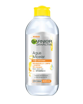 agua micelar express aclara - garnier skin active-Sin Color-MainImage