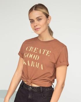 camiseta en algodon manga corta con estampado localizado--MainImage