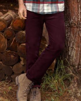 pantalon texas silueta semi ajustada-430- Wine-MainImage