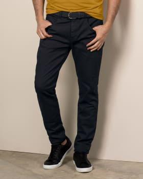 pantalon skinny en algodon para hombre-700- Black-MainImage
