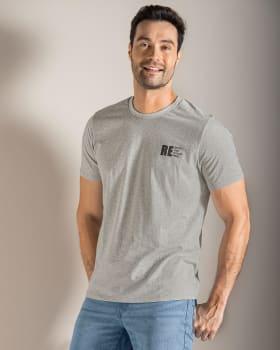 camiseta manga corta elaborada en algodon reciclado y algodon organico-732- Gris-MainImage