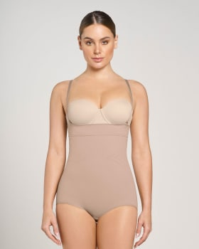 post-surgical invisible strapless classic body shaper-087- Beige-MainImage