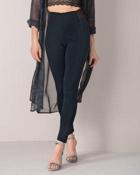 fitted legging-509- Dark Blue-MainImage