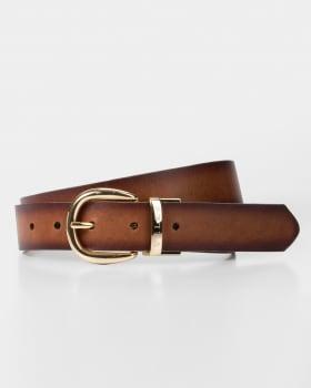 cinturon doble faz femenino con hebilla reversible-802- Miel-MainImage