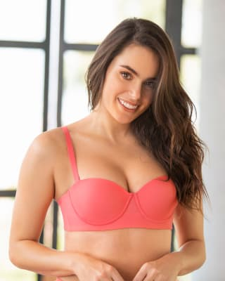 brasier strapless con control fuerte de espalda - perfect strapless--MainImage