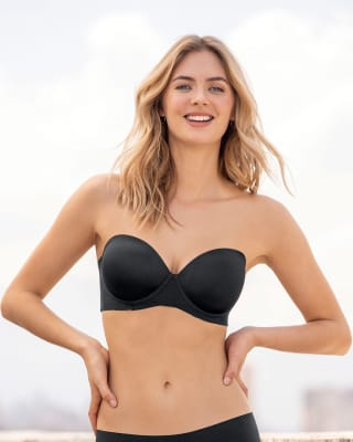 no-slip strapless push up bra--MainImage