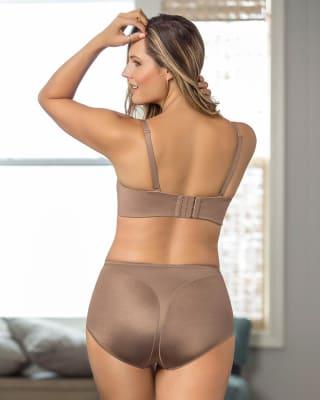panty clasico con control moderado en abdomen-831- Brown-MainImage