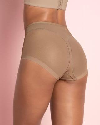 panty clasico invisible con tul-857- Brown-MainImage