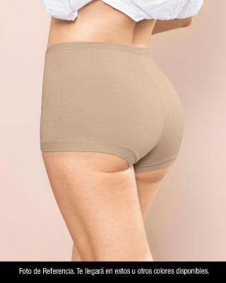 panty tipo boxer de buen cubrimiento en gluteos y abdomen bajo--MainImage