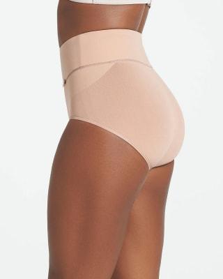 calzon faja de control suave alto en la cintura en skinfuse-802- Habano-MainImage