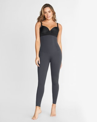 extra high waisted firm compression legging-779- Gris Oscuro-MainImage