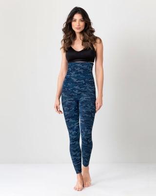 extra high waisted firm compression legging-838- Azul Oscuro-MainImage