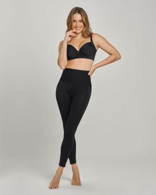 super-soft moderate compression butt lift legging  activelife-700- Black-MainImage