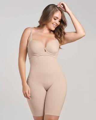 extra-high-waisted moderate shaper short-802- Nude-MainImage