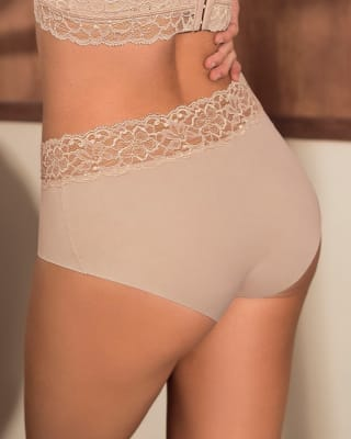 ultra light lace trim hipster knicker--MainImage