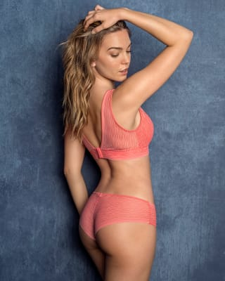 sheer lace hipster panty-211- Coral-MainImage