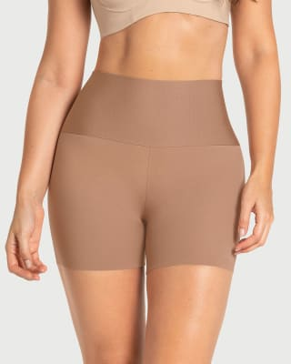 stay-in-place seamless slip short-857- Brown-MainImage