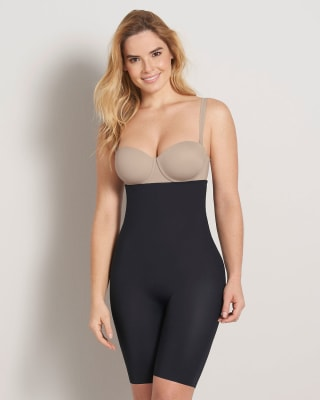 extra high-waisted undetectable butt lifter shaper short--MainImage