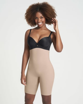 extra high-waisted undetectable butt lifter shaper short-802- Habano-MainImage