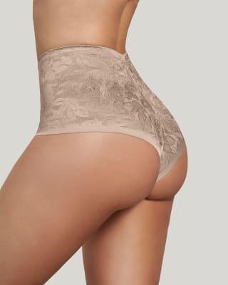 high-waisted panty - tummy control-802- Cafe Claro-MainImage