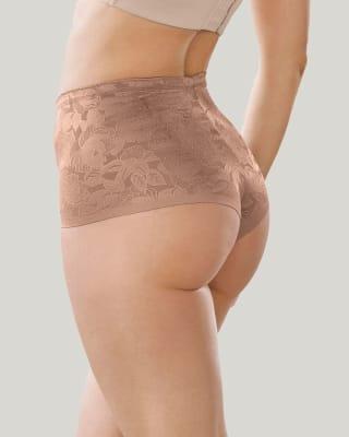high-waisted panty - tummy control-857- Cafe Medio-MainImage