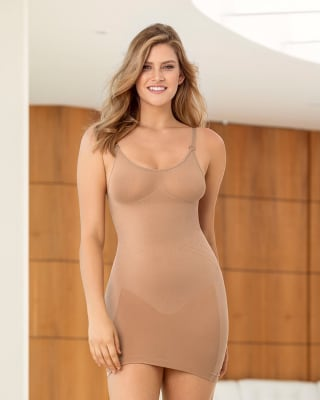 slimming cami slip with rear lifter--MainImage