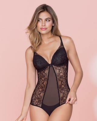 sexy lace bodysuit--MainImage
