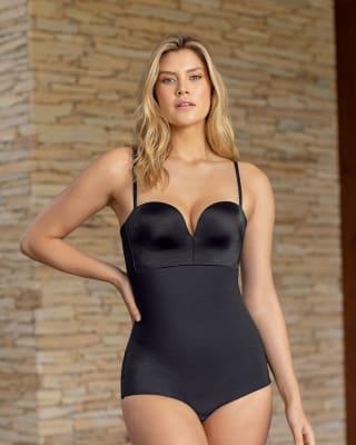 antigravity undetectable plunge shaping bodysuit--MainImage