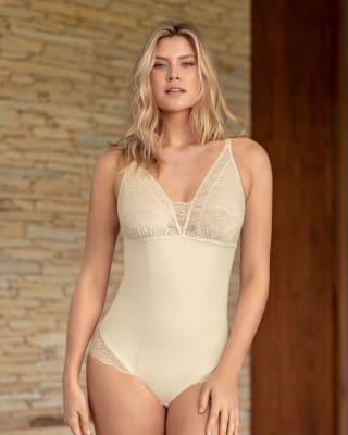 lace hipster shaper bodysuit-898- Ivory-MainImage