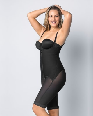 power slimmed mid-thigh body shaper--MainImage