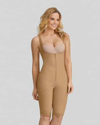 slimming braless body shaper with thighs slimmer--MainImage
