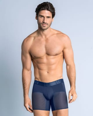 leo advanced mesh boxer brief-509- Dark Blue-MainImage
