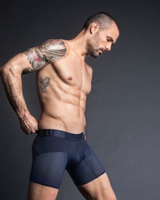 boxer medio de secado rapido con mallas transpirables-509- Dark Blue-MainImage