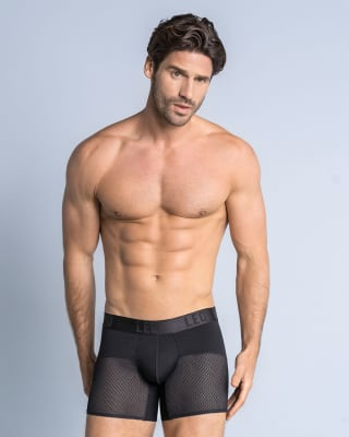 leo advanced mesh boxer brief-700- Black-MainImage