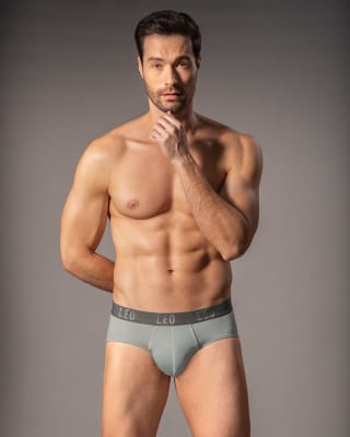 ultra-light perfect fit brief for men-709- Gris Claro-MainImage