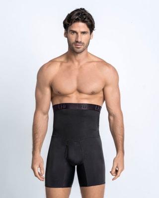 boxer de control dos prendas en una boxer  cinturilla-700- Black-MainImage