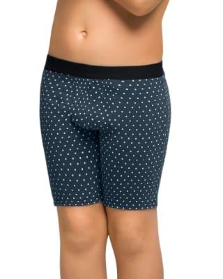 boxer largo en algodon para nino-742- White Dots-MainImage