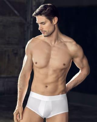 boxer leo corto de ajuste inteligente-000- White-MainImage
