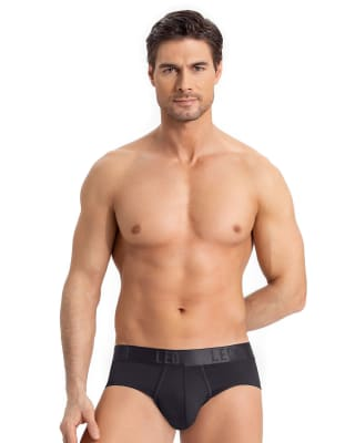 leo advanced brief with butt lifter-700- Black-MainImage