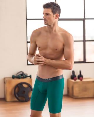 boxer largo deportivo con pocas costuras-666- Green-MainImage