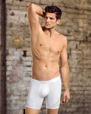 boxer medio ideal para uso diario con mallas laterales transpirables-000- White-MainImage