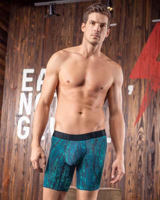 boxer medio deportivo con bolsillo lateral-001- Blue-MainImage