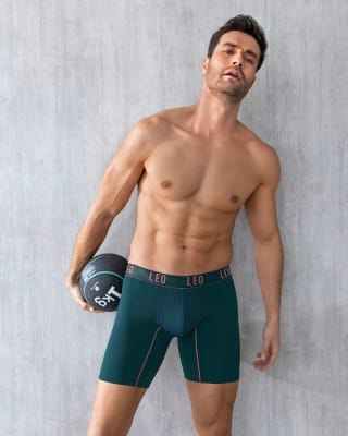 long athletic boxer brief with side pocket-605- Verde Esmeralda-MainImage