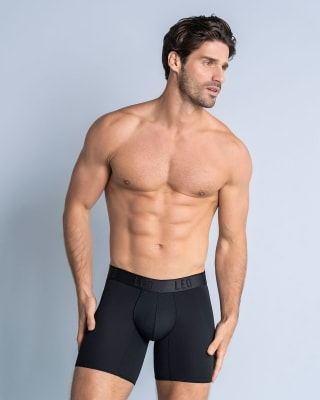 long athletic boxer brief with side pocket-700- Black-MainImage