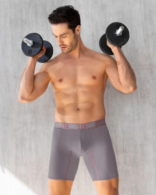 long athletic boxer brief with side pocket-750- Gris Plata-MainImage