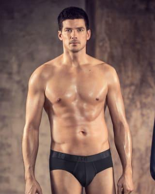 leo boxer shorts aus body fresh mikrofaser-700- Black-MainImage