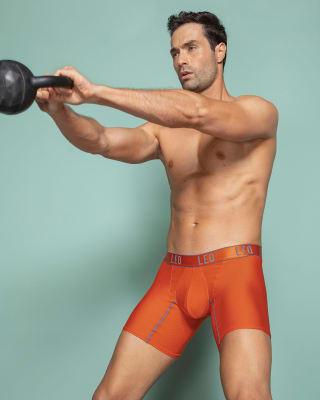 boxer con mallas transpirables elaborado con pet reciclado-203- Naranja-ImagenPrincipal