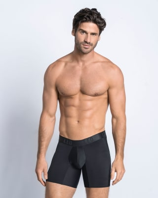 smart fit ergonomic boxer brief-700- Black-MainImage