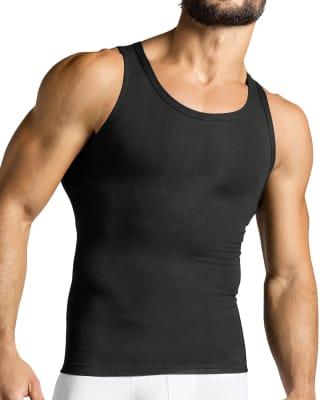 camiseta depotiva con control de abdomen-700- Black-MainImage