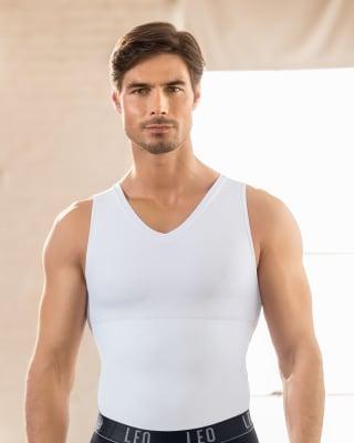 camisilla con compresion de abdomen y espalda-000- White-MainImage